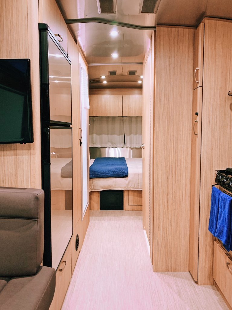 Inside the Airstream
